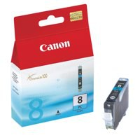 Canon CLI-8PC Inkjet Cartridge Page Life 7485pp Photo Cyan Ref 0624B001