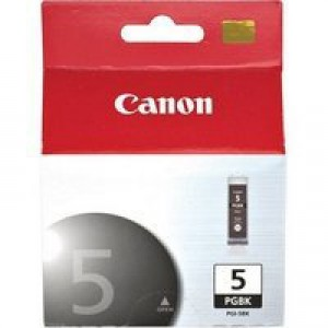 Canon PGI-5BK Inkjet Cartridge Black Ref 0628B001