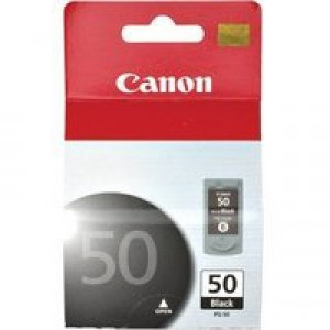 Canon PG-50 High Yield Black Ink Cartridge Code PG-50
