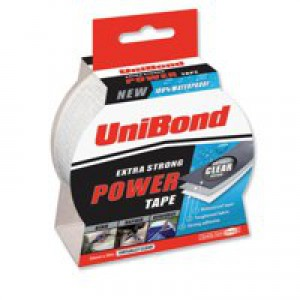 Unibond Duct Tape Multisurface 0-70 degrees C 50mmx10m Silver Ref 1667265