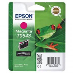 Epson Frog Inks Ultra Chrome Hi-Gloss Magenta T0543