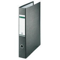Leitz Board Lever Arch File Upright 77mm Spine A3 Black Ref 1072-00-95 [Pack 2]