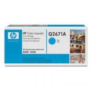 HP No.309A Laser Toner Cartridge Cyan Code Q2671A