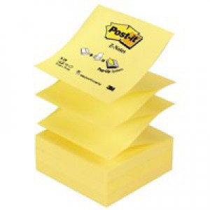 3M Post-it Z Notes 76x76mm Canary Yellow Code R330YE