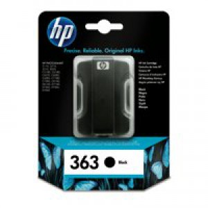 Hewlett Packard [HP] No. 363 Inkjet Cartridge Page Life 800pp Black Ref C8719EE
