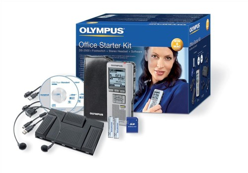 Olympus DS-2400 Digital Dictation Starter Kit