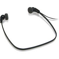 Philips LFH0334 Digital Headset Gold-plated 3m Cable Black Ref LFH0334