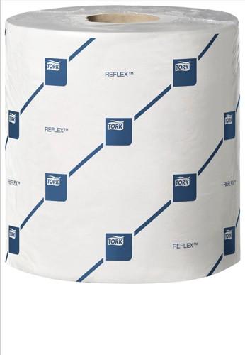 Lotus Reflex Wiper White 2 Ply 194mmx157.5M 450Sheets/Roll Pack 6 E02222