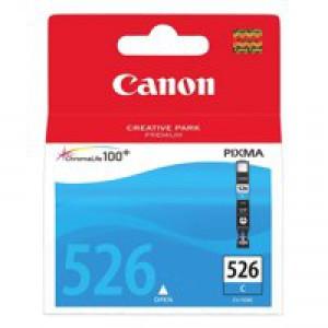Canon Inkjet Cartridge Page Life 462pp Cyan CLI-526 C Code 4541B001