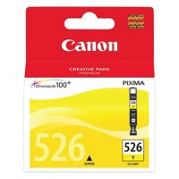 Canon Inkjet Cartridge Page Life 450pp Yellow CLI-526Y Code 4543B001