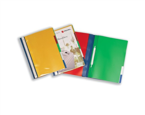 Rexel File 5-Part Polypropylene with Colour-coded Indexed Sections A4 Opaque Ref 62146