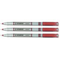 Stabilo Sensor 189 F/Line Pen Red 189/40