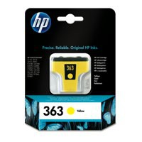 Hewlett Packard [HP] No. 363 Inkjet Cartridge Page Life 350pp 4ml Yellow Ref C8773EE