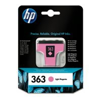 Hewlett Packard [HP] No. 363 Inkjet Cartridge Page Life 350pp 4ml Light Magenta Ref C8775EE-ABB