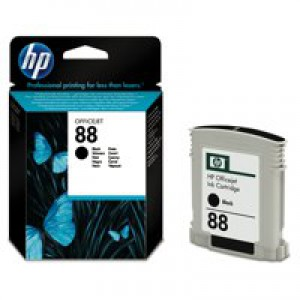HP No.88 Inkjet Cartridge 20.5ml Black Code C9385AE