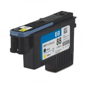 Hewlett Packard [HP] No. 88 Inkjet Cartridge Black & Yellow Ref C9381A