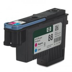 HP No.88 Officejet Printhead Magenta and Cyan Code C9382A