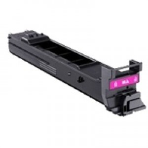 Konica Minolta Laser Toner Cartridge Page Life 4000pp Magenta Ref A0DK351