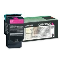 Lexmark C544 Extra High Return Program Cartridge Magenta Code C544X1MG