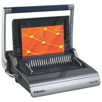 Fellowes Galaxy 500 Large Office Manual Comb Binding Machine with System For Heavy Use