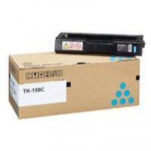 Kyocera TK-150C Laser Toner Cartridge Page Life 6000pp Cyan Ref 1T05JKCNL0