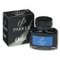 Parker Quink Bottled Ink Permanent 57ml Bottle Blue Ref S0037470