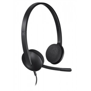 Logitech H330 Headset USB Lightweight with Noise-cancelling Microphone Ref 981-000475