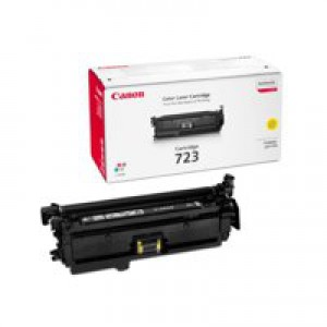 Canon 7750Cdn 723Y Toner Cartridge Yellow Code 2641B002AA