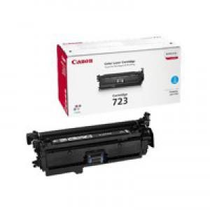 Canon 7750Cdn 723C Toner Cartridge Cyan Code 2643B002AA