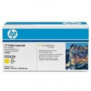 HP No.648A Laser Toner Cartridge Yellow Code CE262A