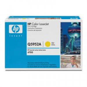 Hewlett Packard [HP] No. 643A Laser Toner Cartridge Page Life 10000pp Yellow Ref Q5952A