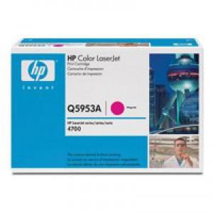 Hewlett Packard [HP] No. 643A Laser Toner Cartridge Page Life 10000pp Magenta Ref Q5953A