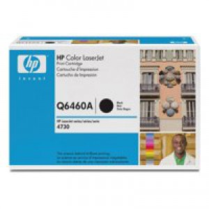 Hewlett Packard [HP] No. 644A Laser Toner Cartridge Page Life 12000pp Black Ref Q6460A