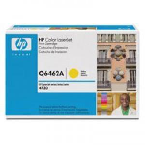 Hewlett Packard [HP] No. 644A Laser Toner Cartridge Page Life 12000pp Yellow Ref Q6462A