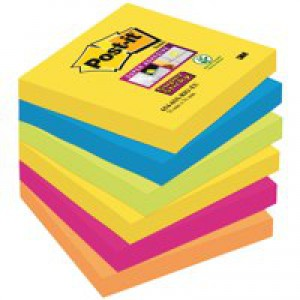 Post-it Rio S/Sticky 76x76mm Notes Pk6
