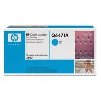 Hewlett Packard [HP] No. 502A Laser Toner Cartridge Page Life 4000pp Cyan Ref Q6471A