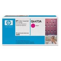 Hewlett Packard [HP] No. 502A Laser Toner Cartridge Page Life 4000pp Magenta Ref Q6473A