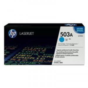HP No.503A Laser Toner Cartridge Cyan Code Q7581A
