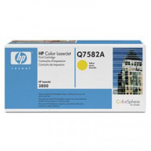 HP No.503A Laser Toner Cartridge Yellow Code Q7582A