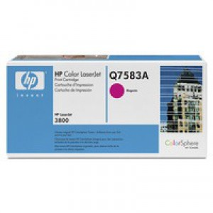 Hewlett Packard [HP] No. 503A Laser Toner Cartridge Page Life 6000pp Magenta Ref Q7583A