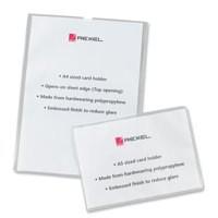 Rexl Card Holder O/S/Edge A5 12093 Pk25