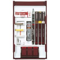 Rotring Rapidograph College Set with 3 Pens 0.25/0.35/0.5mm 1 Mechanical Pencil 0.5mm Ref S0699530