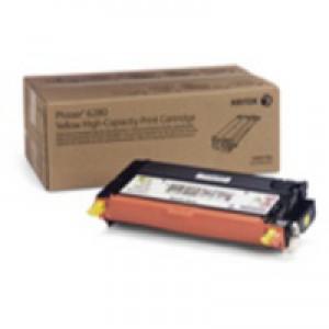 Xerox Phaser 6280 High Capacity Toner Cartridge Yellow Code 106R01394