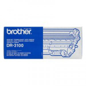 Brother Laser Drum Unit Page Life 25000pp Black Ref DR3100