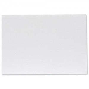 Foamboard Display Board Lightweight Durable CFC Free W594xD5xH840mm A1 White [Pack 10]
