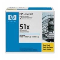 Hewlett Packard [HP] No. 51X Laser Toner Cartridge Page Life 26000pp Black Ref Q7551XD [Pack 2]