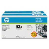 Hewlett Packard [HP] No. 53X Laser Toner Cartridge Page Life 14000pp Black Ref Q7553XD [Pack 2]