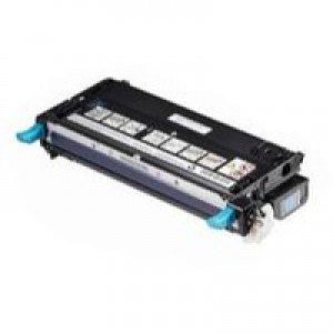 Dell 3130 High Capacity Cyan Toner Cartridge 9K Code 593-10290