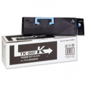 Kyocera FS-C8500DN Toner Cartridge 25K Black TK-880K