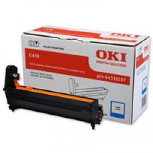 Oki C610 Image Drum 20K Cyan 44315107